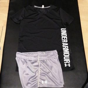 Under Armour Other - Under armour t. Shirt & short